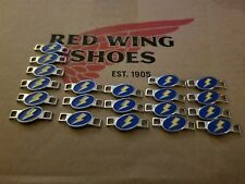 Red Wing Boot Lace Keepers Lighting Bolt Ten (10) pairs, new,Boots not included
