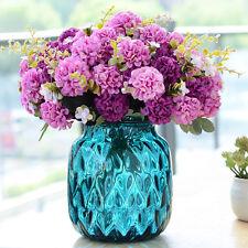 Artificial Chrysanthemum Silk Flowers Flower Floral Fake Wedding Home Decor 31cm