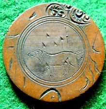 1864-73 UNITED STATE TWO CENT LOVE TOKEN PICTORIAL DOG IN A FIELD WELL MADE L@@K