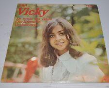 VICKY LEANDROS: le Temps des Fleurs LP Record