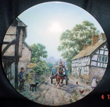 Wedgwood Collectors Plate WEOBLY From THE CHARM OF AN ENGLISH VILLAGE