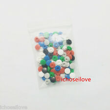 100pcs 5 color Round Switch Cap Hole φ3.2mm For Tact Switches Button HOT