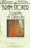 L'ospite di Dracula e altri racconti - Stoker - tascabili economici newton 1993