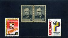 FRANKLIN D.  ROOSEVELT,-INSTITUTO- ABILYMPIC,-Argentina/46Colombia/60/85-rare