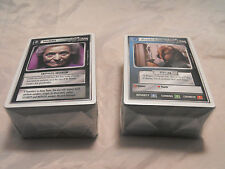 STAR TREK CCG WHITE BORDER BETA PREMIERE COMMON AND UNCOMMON SET