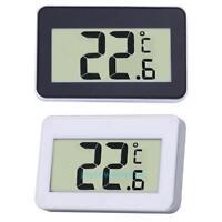 Digital Mini Thermometer Reise LCD Kühlschrank Temperatur Messgerät Magnet+Haken