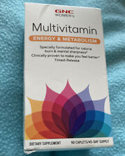 GNC Women's Multivitamin Energy & Metabolism - 90 Caplets