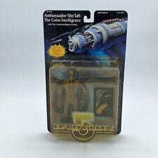 Babylon 5 Ambassador She'lah Gaim Intelligence Figure Rare N2 Toys vintage space