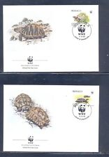 Monaco 1991 Turtle's, Wild Animals, WWF  FDC. VF