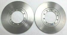 FORD TRANSIT MK6 06-14 RWD PAIR OF BREMBO SOLID REAR BRAKE DISCS 280MM