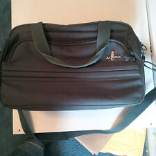 Atlantic Carry On Travel Bag * Classy * Green Canvas Luggage Suitcase