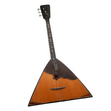 3 String Balalaika Russian Guitar for Party Celebration Festival Playing