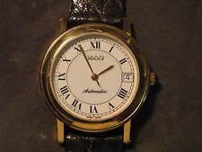 Gucci 7200 Automatic Gold-Plate Wrist Watch, ETA 2892A2
