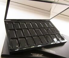 MAC SINGLE Empty PALETTE + INSERT 1 X 24 Foundation Lipstick plastic organizer