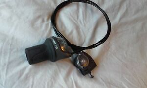 SRAM SPECTRO P5 twist grip shifter & cables & clickbox 5 speed hub twistgrip