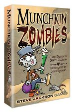 NEW MUNCHKIN ZOMBIES ADVENTURE CARD GAME STEVE JACKSON GAMES NIGHT SEALED 10+