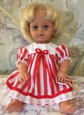 Vintage Tiny Tears Doll With 2 Outfits