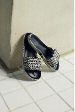 Isabel Marant Etoile Enki Woven Rope Slides Sandals size 40 / UK 7 NEW