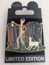 Disney WDI Haunted Mansion 101 Dalmatians Roger & Pongo Caretaker & Dog LE Pin