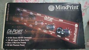 Mindprint Di Port pre amp 24bit converter