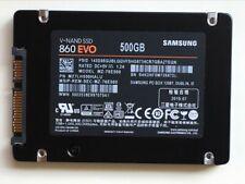 "Samsung 860 EVO 500GB MZ-76E500B/AM  2.5"" SATA III SSD V-NAND 6Gb/s Internal SSD"