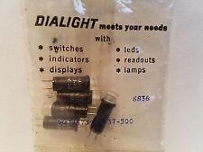 DIALIGHT 272-3830-0171-101 VINTAGE PANEL LAMP 272-3830 DIALCO
