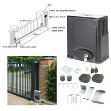Automatic Sliding Gate Opener 1400lbs Motor Auto-Close Security System hot
