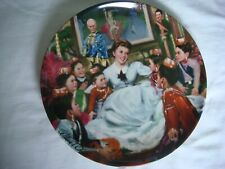 Knowles The King and I Getting To Know You Collectors Plate #12411D, Box & Coa