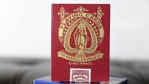 Limited Late 19th Century Square Faro | Red | Playing Cards | Collectable