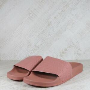 Womens Adidas Adilette Ashpnk/Ashpnk/Ashpnk Slides (02C09) RRP £29.99