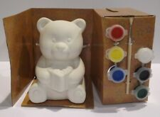 Paint Your Own Money Box - Teddy
