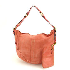 Coach Shoulder bag Pink Gold Woman Authentic Used C1914