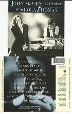 "John McVie`s (Fleetwood Mac) ""Gotta Band"" with Lola Thomas - CD 1992"