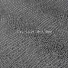Tessuti e stoffe in ecopelle grigio per hobby creativi, lunghezza/quantità al metro
