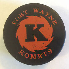 Fort Wayne Komets Hockey Puck IHL 1970's Canada Viceroy