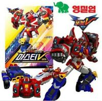 TOBOT V Master V Intergration Transformer Robot 3 Cars Toy Action Figures_NK