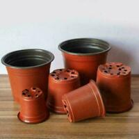 Plastic Garden Nursery Pots Flower Pot Seedlings Planter S2D1 Containers M6Z9
