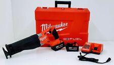 Milwaukee 2720-22 M18 Fuel SAWZALL Reciprocating Saw Kit with Case