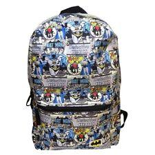 DC Comics Batman Robin Comic Book Style Laptop Bag Backpack - School Official