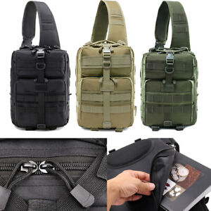 Military Tactical Backpack Large Multifunctional Tactical Chest Pack Outdoor Bag