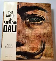 THE WORLD OF SALVADOR DALI  1962  1ST EDITION   PRINTED IN SWITZERLAND