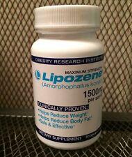 Lipozene 30 Capsule Bottle Maximum Strength 1500mg Weight Loss EXPIRES JAN 2019