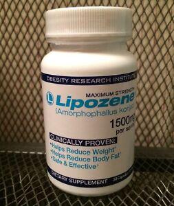 Lipozene 30 Capsule Bottle Maximum Strength 1500mg Weight Loss EXPIRES DEC 2022