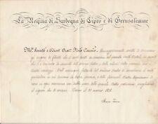 Marie-Thérèse de Habsbourg-Toscane autographe Evêque Nice cachet royal Religion