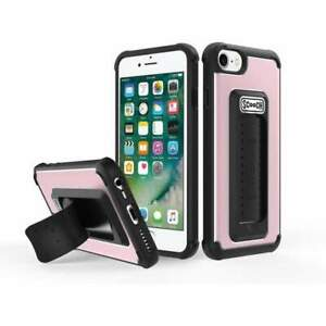 Scooch Case for iPhone 8 / 7 / 6s / 6 / SE (2nd Gen) - 5-in-1 Rose Gold Wingman