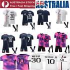 21/22 Kids Adults Football Home Away Kits Soccer T-Shirts&shorts Tracksuits PSG