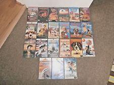 KIDS/FAMILY Popular VHS Videos x 21 Inc. ANDRE, FLIPPER, BABE, KARATE KID + More