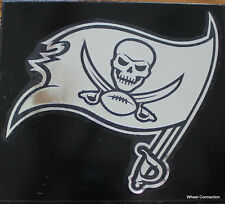 Tampa Bay Buccaneers Window Graphic Sticker NFL Lic. Decal Only chrome shows