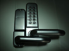 Mechanical Door Lock Code Password Pin Push Button Keyless Lever handle