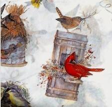 Birds Nest Bird Lovers Bird Houses Gift Wrap Tissue Paper-10 Patterned Sheets
